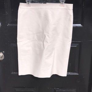 J. Crew No. 2 Pencil Skirt  NWOT Size: 10 Cream